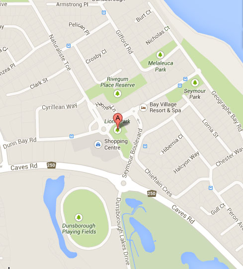 dunsborough-map-lions-club